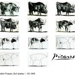 быки пикассо пабло