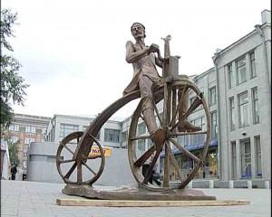 первый велосипед, артамонов