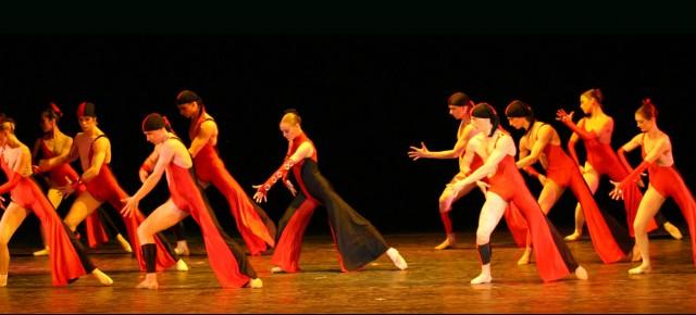 Случай на балете.