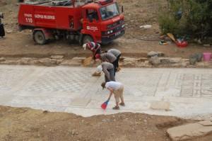 римские мозаики турция раскопки