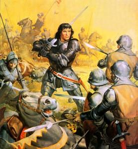 Король Ричард в битве при Босворте