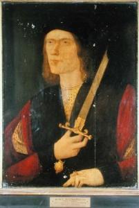 """Ричард III (портрет """"Сломанный меч"""")"""